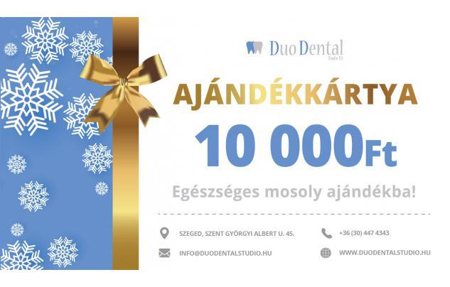 Duo Dental fogászati ajándékkártya